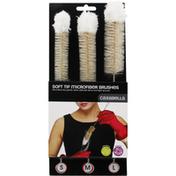 Casabella Brushes, Microfiber, Soft Tip