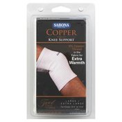 Sabona Knee Support, Copper Thread, Large/Extra Large
