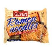 Gefen Ramen Noodles, Oriental-Style, Chicken Flavor