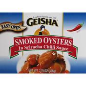 Geisha Oyster, Smoked, Hot