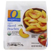 O Organics organic Sliced Peaches