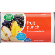 Food Club Frozen Concentrate, Fruit Punch