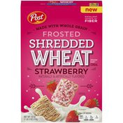 Post Frosted Strawberry Shredded Wheat Post Frosted Strawberry Shredded Wheat Cereal