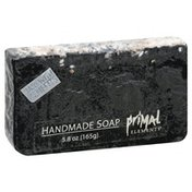 Primal Elements Soap, Handmade, Bamboo Charcoal