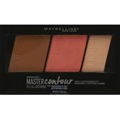 Maybelline Face Contouring Kit, Master Contour, Medium to Deep 20
