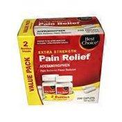 Best Choice Pain Relief Caplets in Bonus Pack