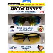 Bell and Howell Sunglasses, Day/Night, Value Pack
