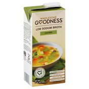 Wholesome Goodness Broth, Low Sodium, Chicken