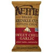 Kettle Potato Chips, Krinkle Cut, Sweet Chili Garlic
