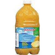 Schnucks Unsweetened Pineapple 100% Juice