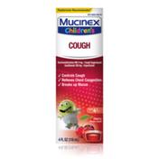 Mucinex® Children's Cough Medicine, Expectorant, Cherry Flavor, Liquid Cough Suppressant