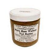 Glaser Organic Farms Certified Organic Pure Raw Walnut Nut Butter