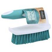 Essential Everyday Scrub Brush, Iron Handle