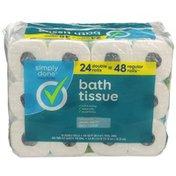 Simply Done Bath Tissue Rolls