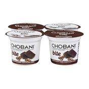Chobani Non-Fat Greek Yogurt Bite Coffee with Dark Chocolate Chips - 4 CT