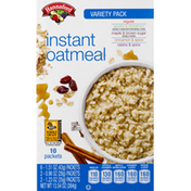 Hannaford Instant Oatmeal Variety Pack