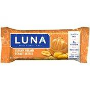 Luna Creamy Dreamy Peanut Butter Whole Nutrition Bar