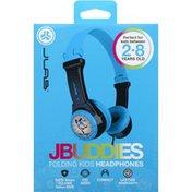 JLab Headphones, Gray/Blue