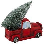 Creative Design Decor, Xmas Tree on Truck
