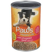 Paws Happy Life Chopped Beef Dog Food