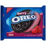 Oreo Cookies, Sandwich, Chocolate, Berry Burst Ice Cream