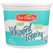 Our Family Light Whipped Topping