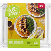 Hello Fresh Meal Kit, Cherry Ancho Chicken