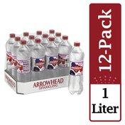 Arrowhead Sparkling Water, Triple Berry