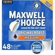 Maxwell House Original Roast Medium Roast K-Cup Coffee Pods