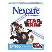 Nexcare Bandages, Waterproof, Star Wars, Assorted