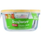 Snapware Round Glass Dish With Locking Lid