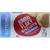 Essential Everyday Biscuits, Jumbo Flaky, Buttermilk, Ready-to-Bake