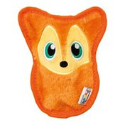 Outward Hound Fox Invincibles Squeaky Stuffing-Free Plush Dog Toy