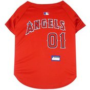 Pets First Extra Small Los Angeles Angels Mesh Jersey for Pets