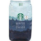 Starbucks Medium Roast 100% Arabica Whole Bean Starbucks Winter Blend Medium Roast 100% Arabica Whole Bean Coffee