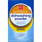 Harris Teeter Dishwashing Powder, Automatic, Lemon