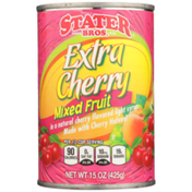 Stater Bros. Markets Extra Cherry Mixed Fruit In A Natural Cherry Flavored Light Syrup