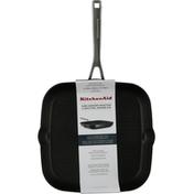 KitchenAid Grill Pan, Nonstick, Matte Black, 11.25 Inch
