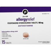 Publix Allergy Relief, 180 mg, 24-HR, Tablets