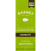 Barney Butter Almond on-the-go Snack Packs Crunchy - 6 PK