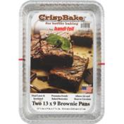 Handi-Foil Crisp Bake Brownie Pans 13 x 9