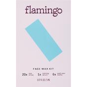 Flamingo Face Wax Kit
