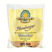 Kinnikinnick Gluten Free Hamburger Buns - 4 CT