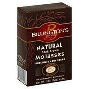 Billingtons Cane Sugar, Unrefined, Dark Brown Molasses