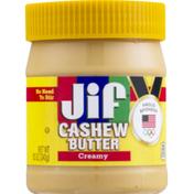 Jif Cashew Butter, Creamy
