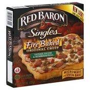 Red Baron Pizza, Fire Baked Original Crust, Sausage, Salami & Mushroom