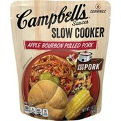 Campbell's® Slow Cooker Sauces Apple Bourbon Pulled Pork Slow Cooker Sauce
