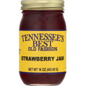 Tennessee's Best Jam, Old Fashion, Strawberry, Jar