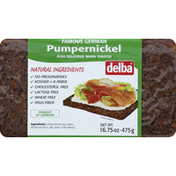 Delba Famous German Pumpernickel Bread