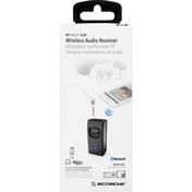 Scosche Audio Receiver, Wireless, Clip